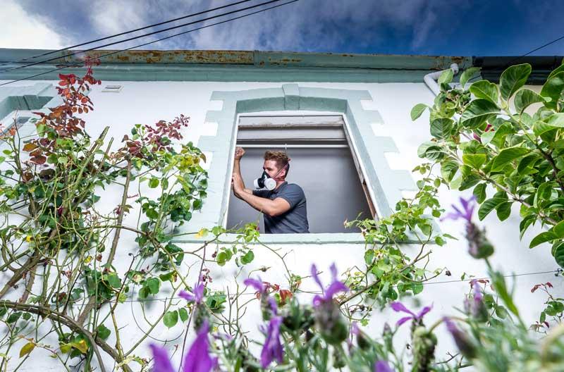 Mitchell and Dickinson | Sash window