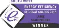 South West Energy Efficiency Large Scale Project Winner
