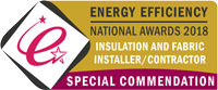 National Energy Efficiency Awards insulation and fabricator, installer